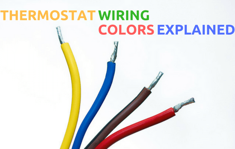 thermostat wiring colors  terminals explained