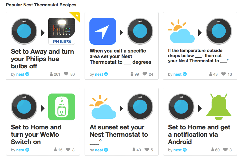 Using Nest with IFTTT - Nest Compatible Products - Smart Home Reviews