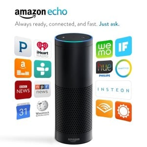 "What can you ask Amazon Echo? ""Alexa..."""