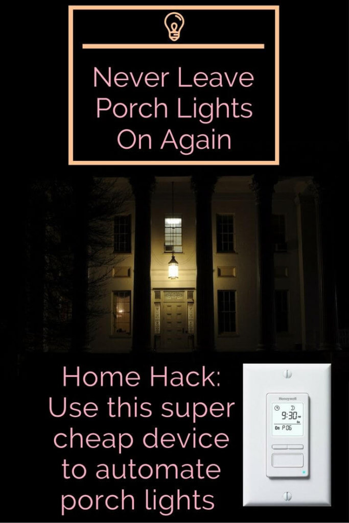 Timer Porch Lights