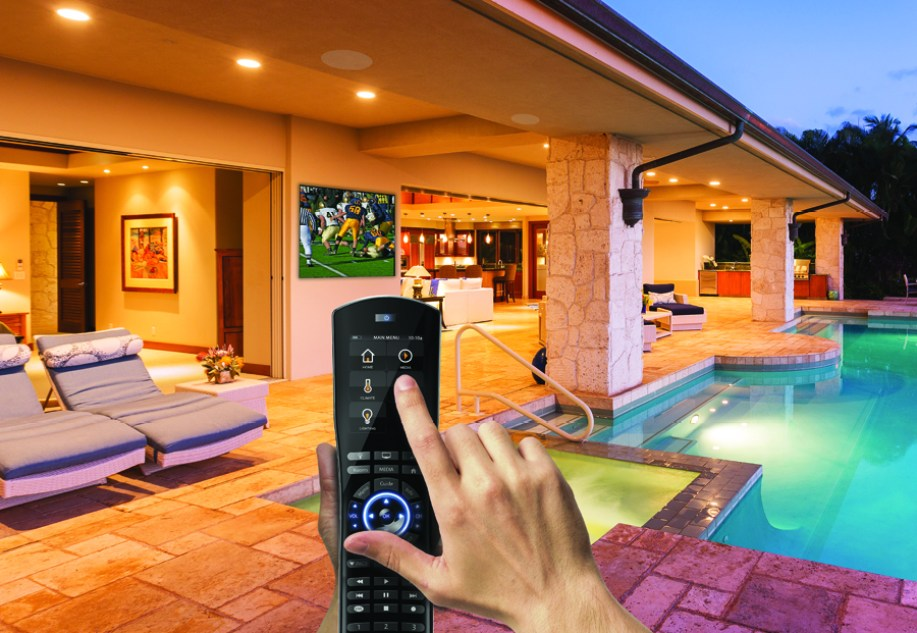 Smart home and a remote