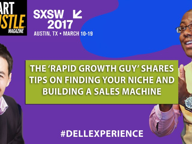 The Rapid Growth Guy Shares Tips on Finding Your Niche and Building a Sales Machine