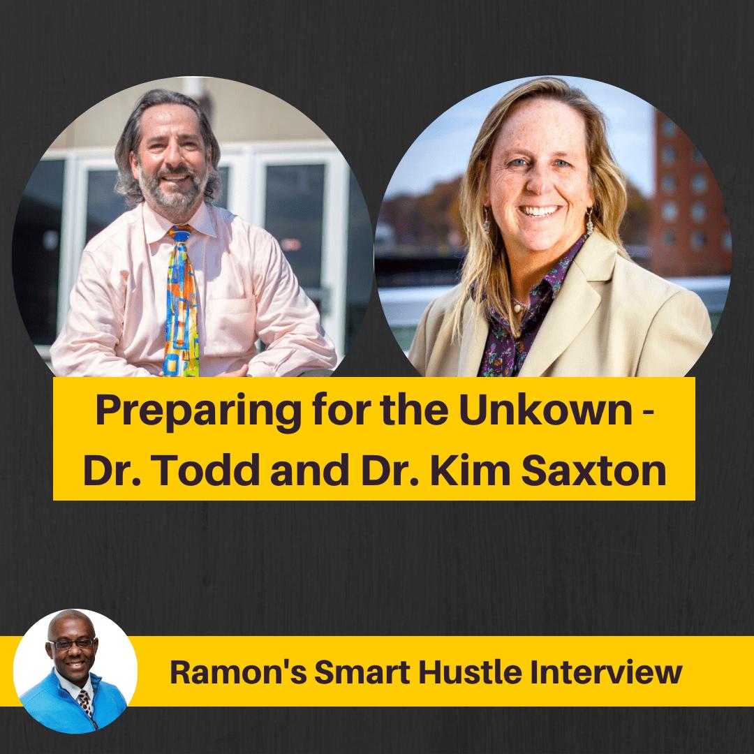 Dr., Todd Saxton and Dr. Kim Saxton