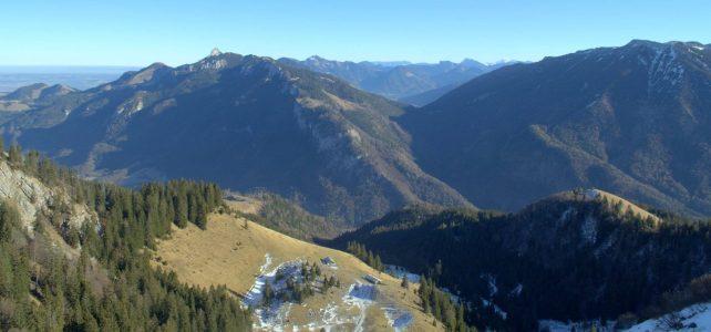 Hiking to Klausenberg und Predigtstuhl