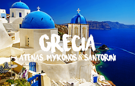 Trip to Greece: Atenas, Mykonos, Santorini