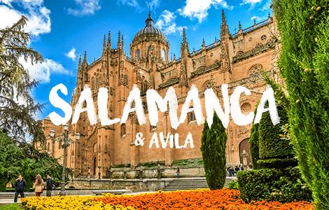 Day Trip to Salamanca & Ávila
