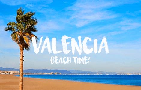 Valencia Beach Time