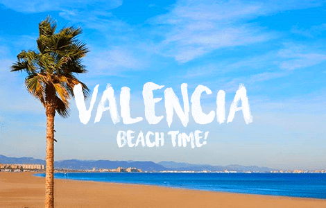 Valencia Beach Time,Trips