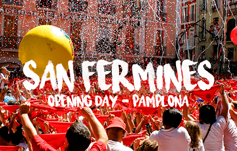San Fermines Pamplona, Trips