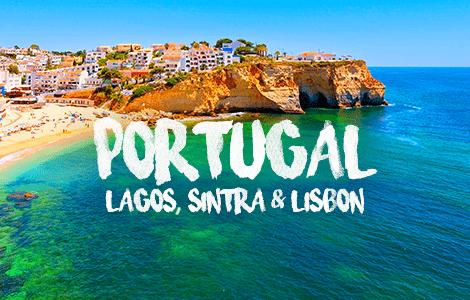 Portugal: Lagos Lisbon & Porto