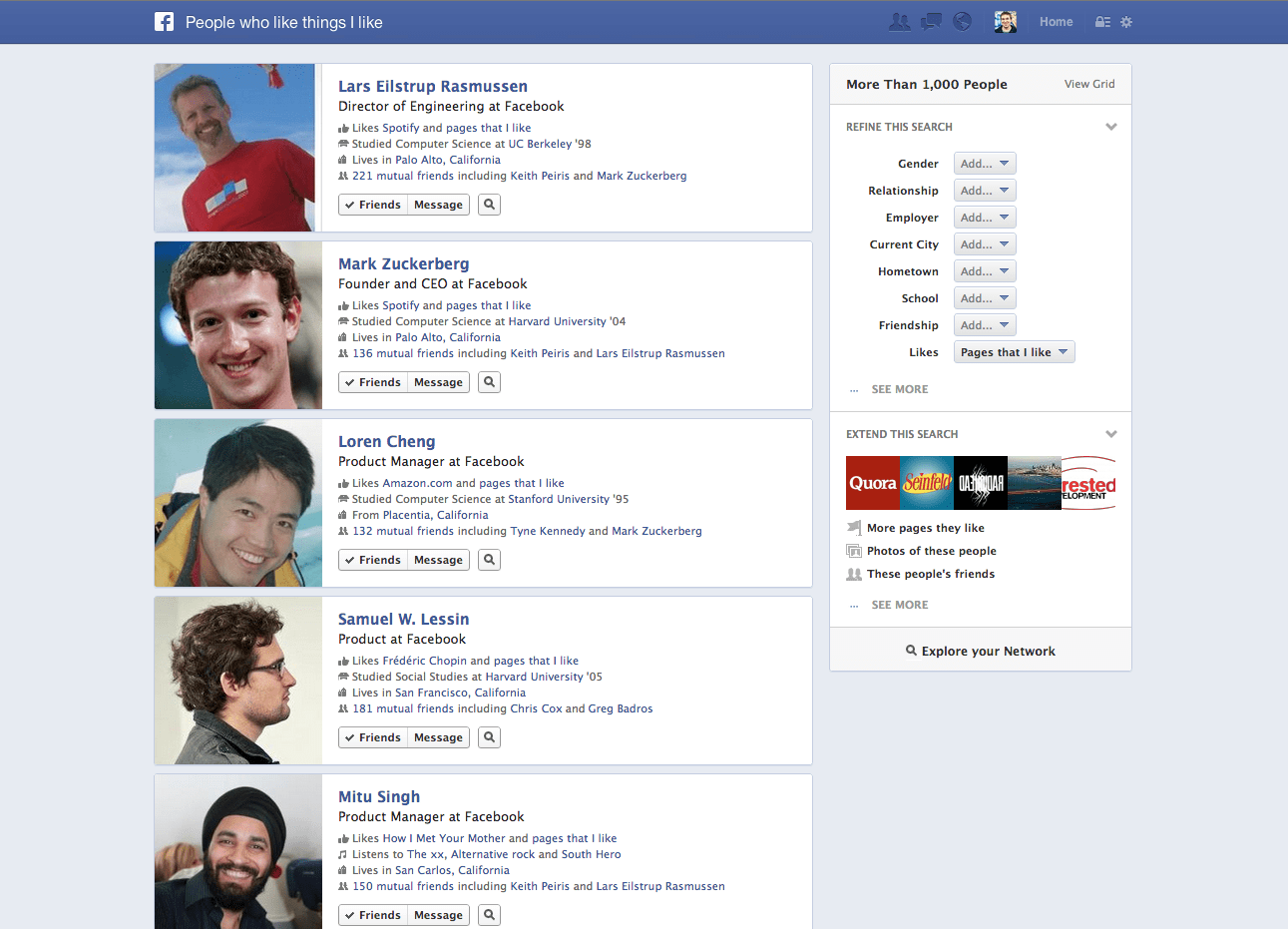 Facebook Graph Search – What It Means To Marketers