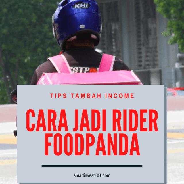 cara jadi rider foodpanda