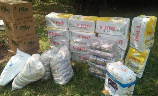 Jofwambo for Jafwambo food Items ready for Phase 2 distribution. A total of 72 Journalists have so far benefited from the Initiative.