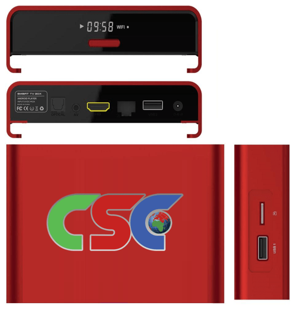 CSC V30 Box Red