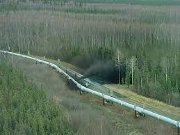 oil pipeline leak