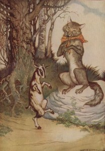 Read more about the article THE WOLF AND THE KID – Aesop Fables for Kids