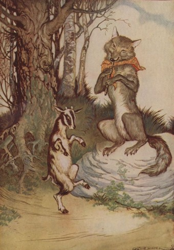 THE WOLF AND THE KID – Aesop Fables for Kids