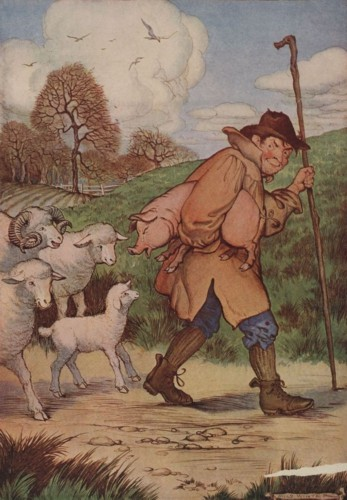 THE SHEEP AND THE PIG – Aesop Fables for Kids