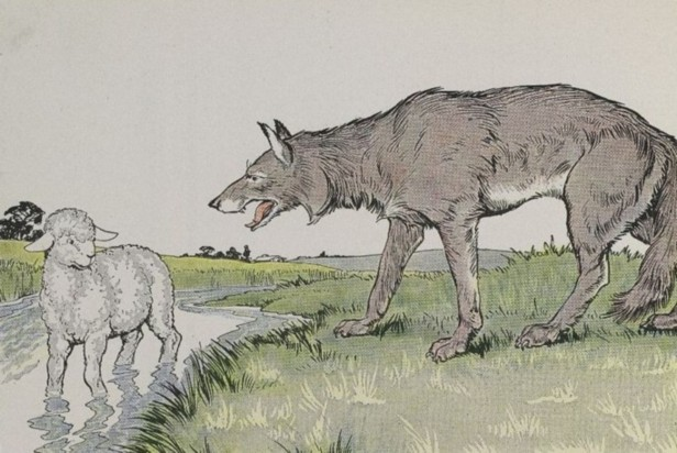THE WOLF AND THE LAMB – Aesop Fables for Kids