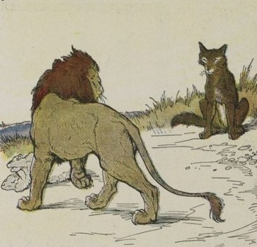 THE WOLF AND THE LION – Aesop Fables for Kids