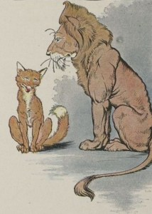 THE FOX AND THE LION – Aesop Fables for Kids