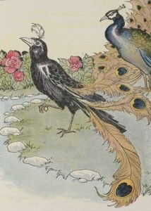 THE VAIN JACKDAW AND HIS BORROWED FEATHERS – Aesop Fables for Kids