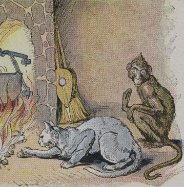 THE MONKEY AND THE CAT – Aesop Fables for Kids