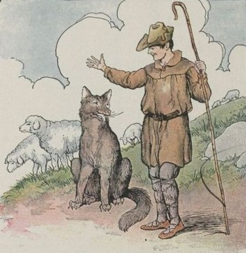 THE WOLF AND THE SHEPHERD - Aesop Fables for Kids
