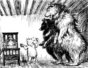 THE STORY OF THE THREE BEARS – English Fairy Tales by Flora Annie Steel
