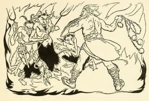 Read more about the article THE LITTLE BRAWL AT ALLEN – James Stephens – Irish Fairy Tales