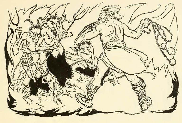 THE LITTLE BRAWL AT ALLEN – James Stephens – Irish Fairy Tales