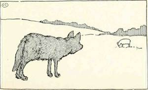 Read more about the article THE HUNGRY WOLF – Russian Fairy Tales – Pictures