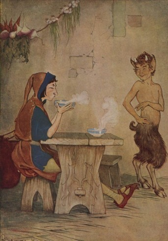 THE MAN AND THE SATYR – Aesop Fables for Kids