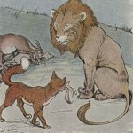 THE LION, THE ASS, AND THE FOX – Aesop Fables for Kids