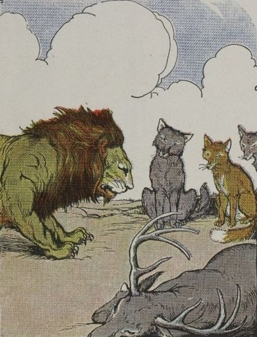 THE LION'S SHARE – Aesop Fables for Kids