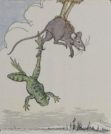 THE FROG AND THE MOUSE – Aesop Fables for Kids