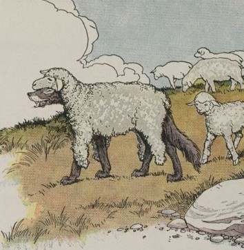 THE WOLF IN SHEEP'S CLOTHING – Aesop Fables for Kids