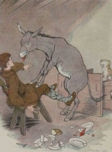Read more about the article THE ASS AND THE LAP DOG – Aesop Fables for Kids