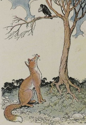 THE FOX AND THE CROW – Aesop Fables for Kids