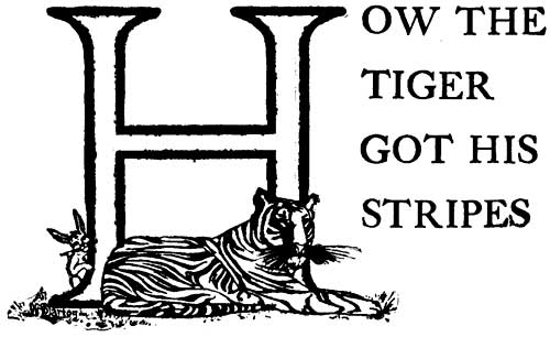How the Tiger Got His Stripes – Brazilian Fairy Tales
