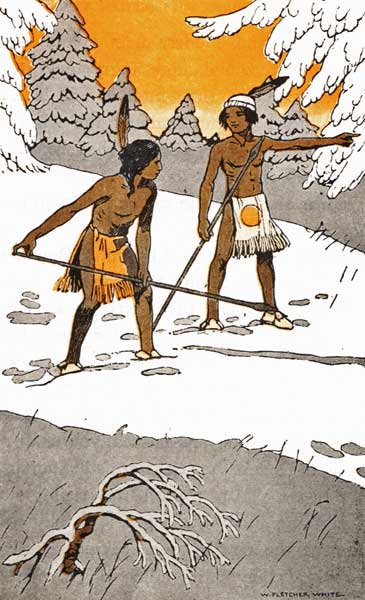 HOW TWO INDIAN BOYS SETTLED A QUARREL – Stories the Iroquois Tell Their Children by Mabel Powers