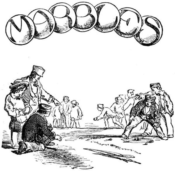 Marble Games for Kids - Vintage Marble Games