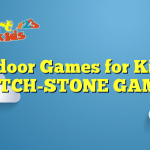 Outdoor Games for Kids – PITCH-STONE GAME