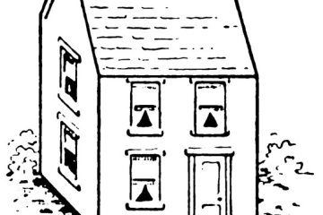 how to draw a house step by step 4