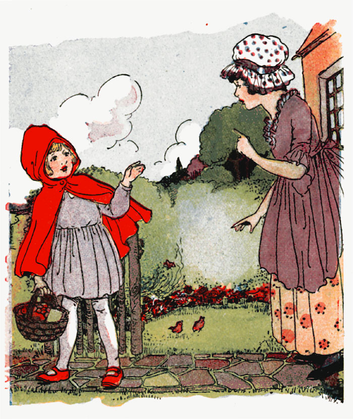 Little Red Riding Hood Story With Pictures
