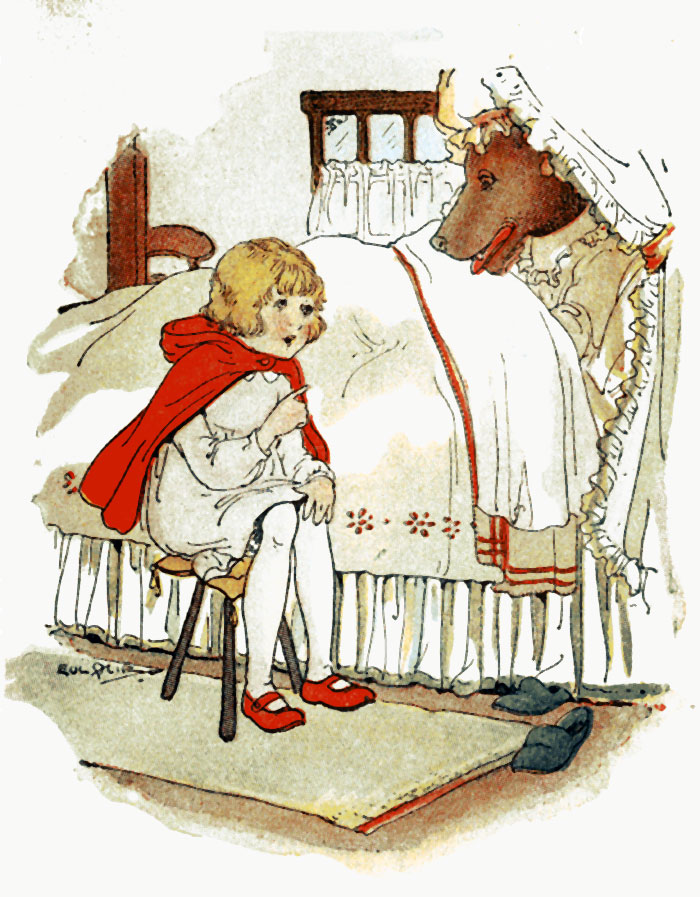 Little Red Riding Hood Story With Pictures - image 5