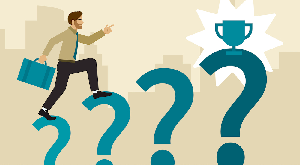 Why asking questions in a job interview will always lead you to success. Even if you don't get the job that day, you will learn something.