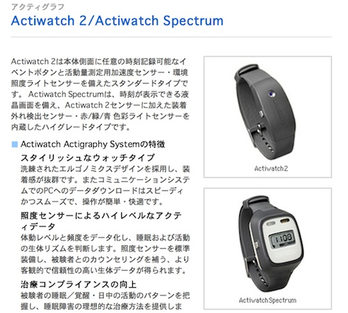 actiwatch