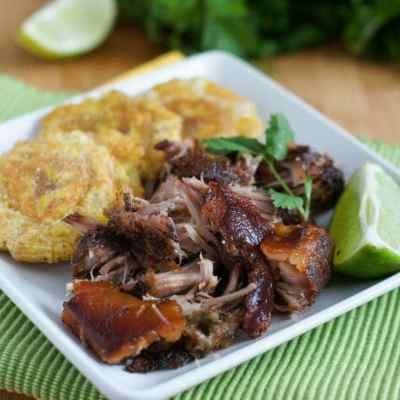 Slow Cooked and Roasted Pork Shoulder
