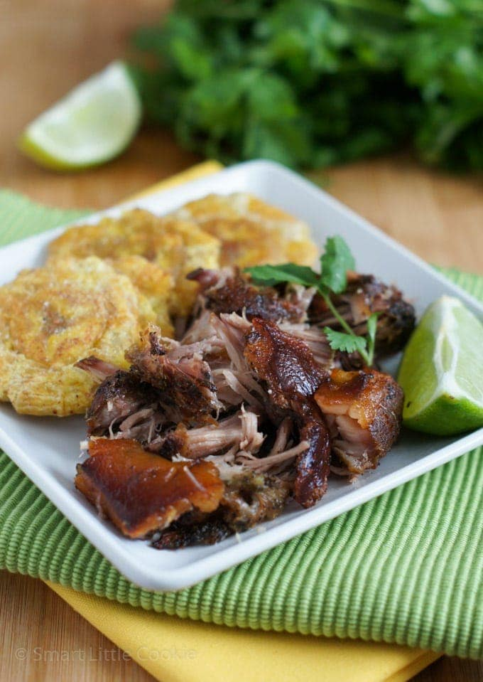 Roasted Pork Shoulder | SmartLittleCookie.net